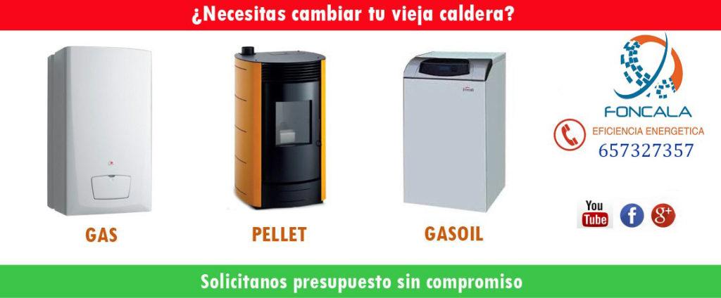 instalar caldera en Bilbao